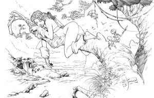 red sonja by Jimbrothers