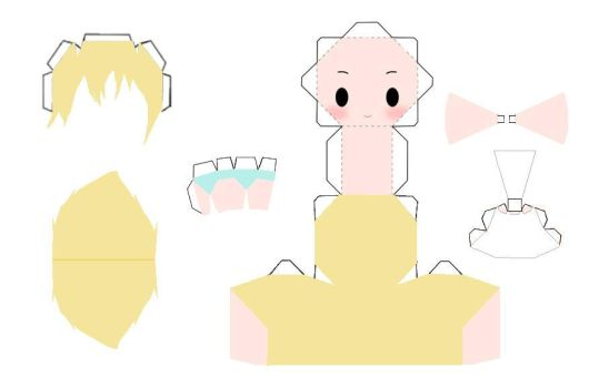 Namine Template by AnimeGang