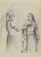 You can still repent (Eonwe and Sauron) by AnotherStranger-Me