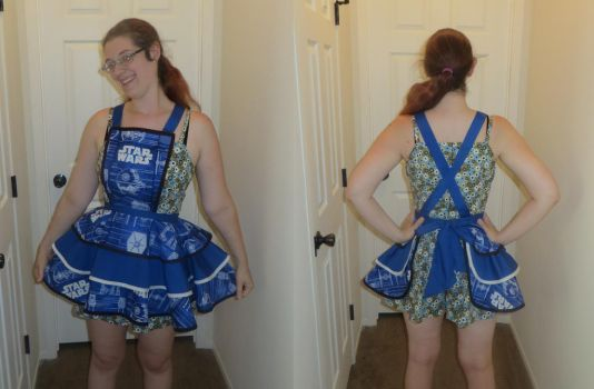 Star Wars Apron by Nerds-and-Corsets