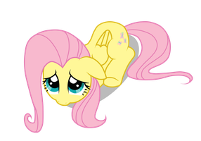 Shy fluttershy by MewMartina