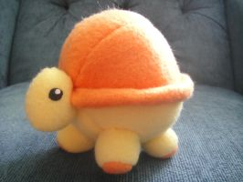 Zippy the Turtle Plushie by TerinAngel