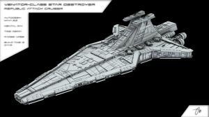 Venator Class Star Destroyer by JasonMartin3D