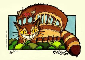 catbus by focusfixated