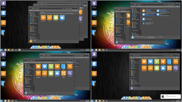 Adobe Blue Line Skinpack by TheDhruv