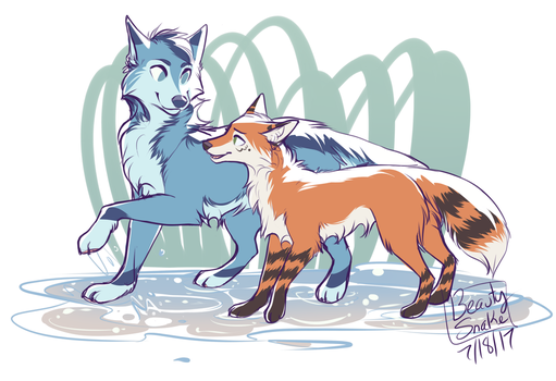 :CO: Puddles by BeautySnake