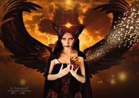 The black angel by annemaria48