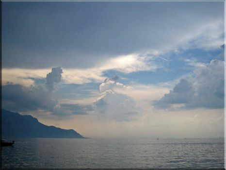 l'infinite du lac leman by Aisire