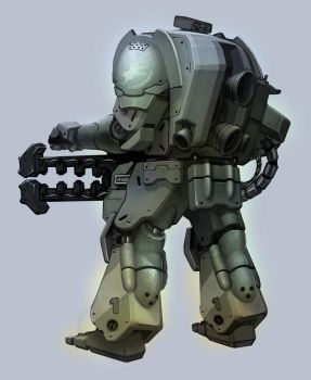 GDI Zonetrooper by kordal