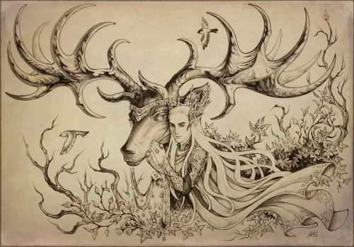 Forest King by Candra