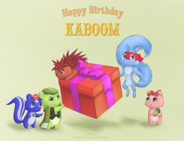 For Kaboom's BDay by Lutherine