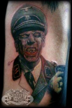 Zombie Nazi by state-of-art-tattoo