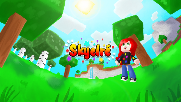 My Minecraft Banner! by Skyelre