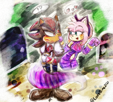 2017_ShadamyWeek 5 Day[Shadow in the...!?] by carolline2121