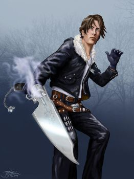 Squall by jackieocean