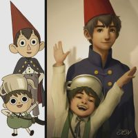 Wirt And Greg (Over The Garden Wall) by JoseDalisayV