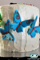 Rainbow Butterfly Cake5 by SugiAi
