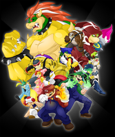 Super Mario Brothers by slimthrowed