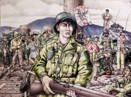 1945  The War For The G I  Has Ended By Theakker5- by codburn