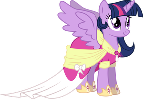 Twilight Sparkle's Coronation Dress by 90Sigma