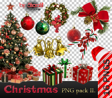 Christmas PNG pack II. by Sharah11