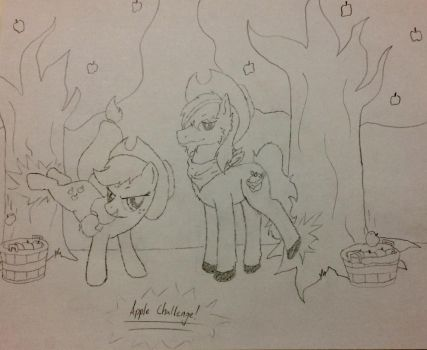 Apple Challenge WIP by Scarletcat1