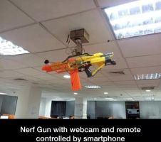 Nerf Guns. by TheFunnyAmerican