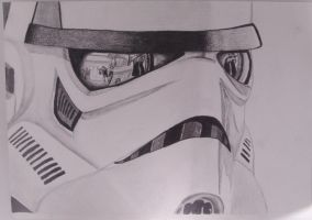 Pencil Drawing - 2012 by Syther66