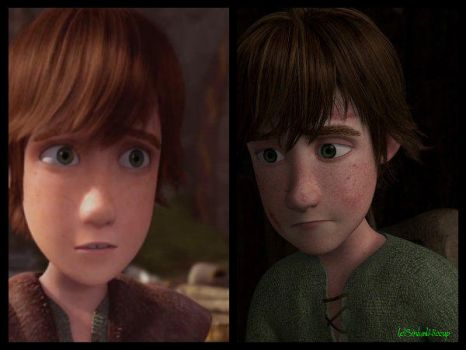 Confronting Hiccup by SinbadHiccup