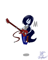 M is fo' Marceline dawg by THAT-Technique