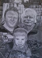 Commission family by ArtIsLife88
