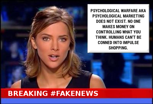 Breaking #FakeNews Mind Games by paradigm-shifting