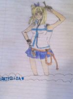 Fairy Tail Lucy by Jolteon54
