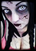 Zombie Doll by TinaLouiseUk