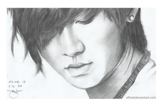 Song Seung Hyun of FT Island (Hand-Sketched) by eftela