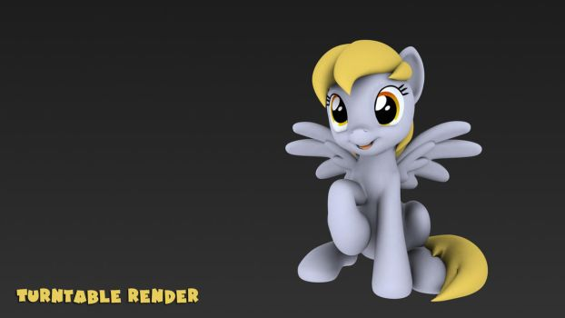 Derpy Turntable by Hashbro