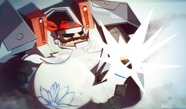 Me' Bronson! (GIF) by Ben-Olive