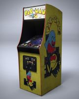Pac-Man Arcade Machine by nocomplys
