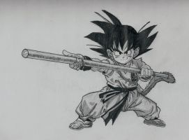 Kid Goku by YoungTalent93