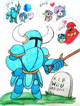 Shovel Knight Then and Now by Edxtreme