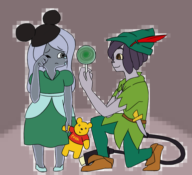 Imagine Your Icon Comforting A Lost Child by TinabiK
