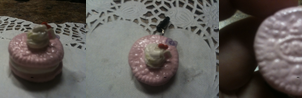 Valentine's day oreo phone charm by muffinthehamster11
