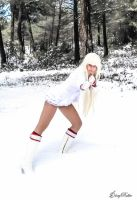 Lili Rochefort Cosplay In Snow by gloryroller