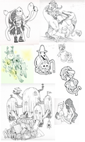 Adventure Time Dump 2 by FauxBoy
