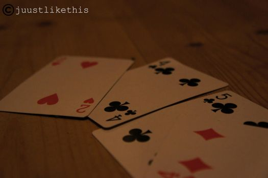 playing cards by juustlikethis