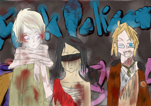 Hear No Evil, See No Evil, Speak No Evil Finished by RenHakura
