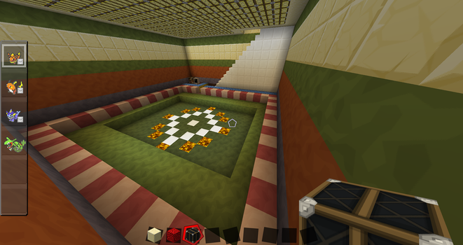 Viridian City Trainer House Basement by The-Macattack