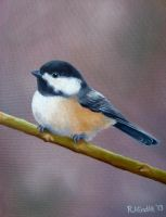 Chickadee by TernFeather