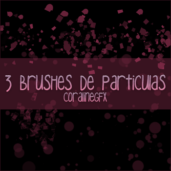 3 Brushes de particulas by CoralineGFX