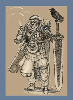 My  Pathfinder  character. by AndgIl